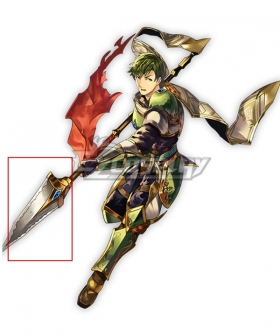 Fire Emblem Heroes The Panther Abel Spear Cosplay Weapon Prop