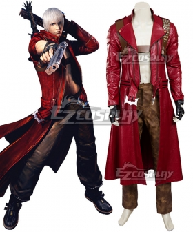 Devil May Cry 3 Dante Cosplay Costume - Updated Version