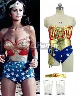 DC Comics The New Adventures of Wonder Woman Cosplay Costume