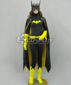 DC Comics Batwoman Batman Batgirl Cosplay Costume Black Cloak Version