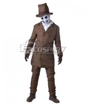 DC Comics Watchmen Rorschach Cosplay Costume