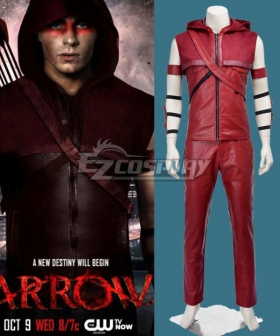DC Comics Arrow Roy Harper Cosplay Costume