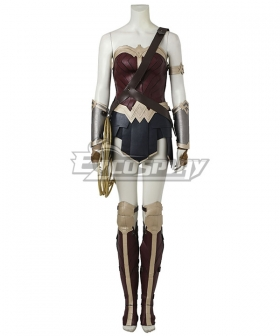 DC Comics Justice League Batman V Superman Wonder Woman Diana Prince Cosplay Costume Without Head wear Boot cover