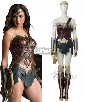 DC Comics Justice League Batman V Superman Dawn Of Justice Wonder Woman Diana Prince Cosplay Costume