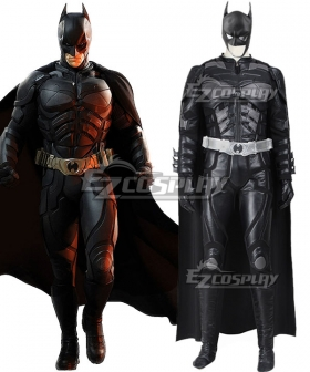 DC The Dark Knight Rises Batman Bruce Wayne Cosplay Costume