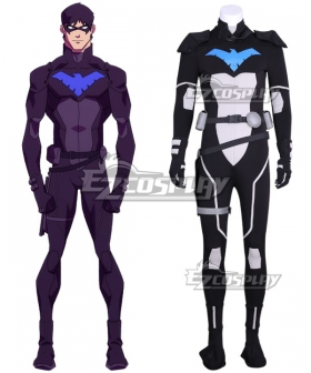 DC Young Justice Nightwing Cosplay Costume - New Edition