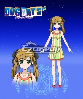 DOG DAYS'' Rebecca Anderson Cosplay Costume