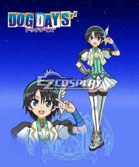 DOG DAYS'' Nanami Takatsuki Cosplay Costume