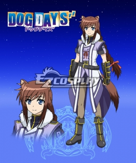 DOG DAYS'' Brioche Dalkian Cosplay Costume