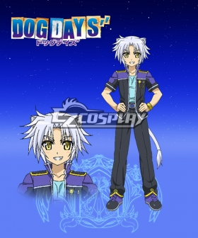 DOG DAYS'' Gaul Galette des Rois Cosplay Costume