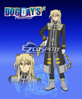 DOG DAYS'' Bernard Sabrage Cosplay Costume