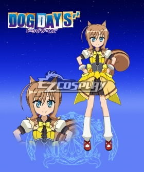 DOG DAYS'' Couvert Eschenbach Pastillage Cosplay Costume