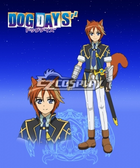 DOG DAYS'' Callaway Risler Cosplay Costume