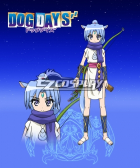 DOG DAYS'' Sharu Cosplay Costume