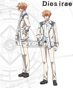 Dies Irae Shirou Yusa School Uniforms Cosplay Costume