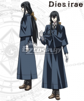 Dies Irae Mercurius Cosplay Costume