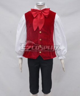 Disney 2017 Beauty And The Beast Movie Lefou Cosplay Costume - A Edition