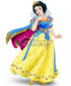 Disney Princess A Christmas of Enchantment Snow White Cosplay Costume