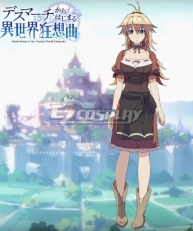 Death March to The Parallel World Rhapsody Death March kara Hajimaru Isekai Kyousoukyoku Nagasaki Nana Cosplay Costume