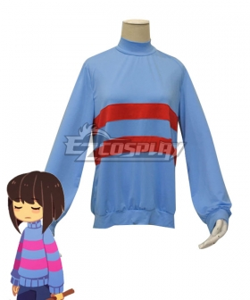 Undertale Frisk Cosplay Costume