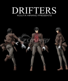 Drifters Butch Cassidy Cosplay Costume