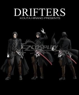 Drifters Hijikata Toshizo Cosplay Costume