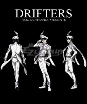 Drifters Abe no Seimei Cosplay Costume