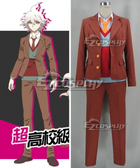 Danganronpa 3 The End of Hope's Peak High School Despair Arc Nagito Komaeda Cosplay Costume