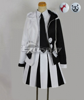 Danganronpa Dangan Ronpa Monokuma Female Cosplay Costume