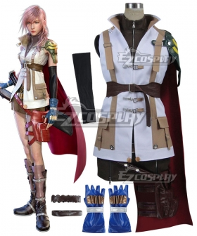 Final Fantasy XIII FF13 Lightning Cosplay Costume