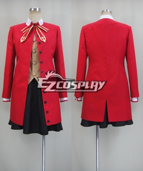 Fate Stay Night: Unlimited Blade Works UBW Rin Tohsaka Cosplay Costume