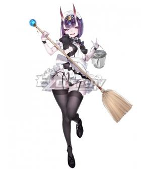 Fate Grand Order Assassin Shuten Douji Maid Cosplay Costume
