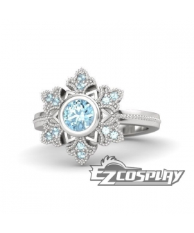 Frozen Elsa Snow Queen Disney Snowflake Ring Cosplay Accessory