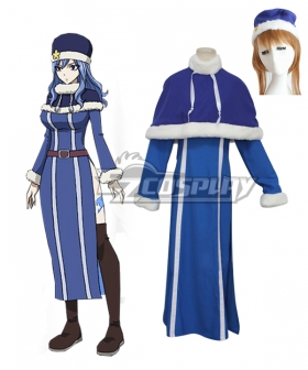 Fairy Tail Juvia Lockser Blue Cosplay Costume