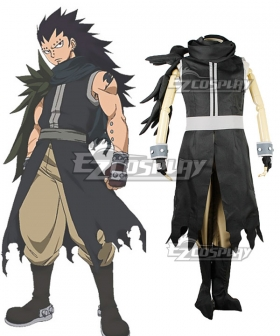 Fairy Tail Phantom Lord Dragon Slayer Gajeel Reitfox Cosplay Costume