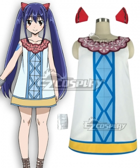 Fairy Tail: Dragon Cry Wendy Marvell Cosplay Costume