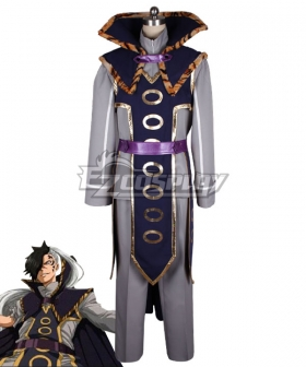 Fairy Tail Black Rogue Cheney Cosplay Costume