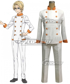 Food Wars Shokugeki no Soma Takumi Aldeni Cosplay Costume