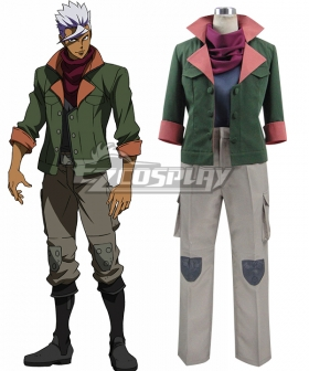 Mobile Suit Gundam Iron-Blooded Orphans Orga Itsuka Cosplay Costume