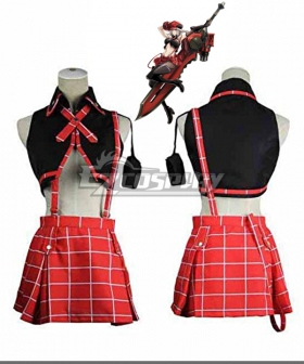 God Eater Alisa Ilyinichna Omela Jinki Cosplay Costume