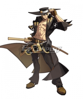 Guilty Gear Johnny Sfondi Cosplay Costume