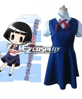 Gugure! Kokkuri-San Kohina Ichimatsu Cosplay Costume - A Edition