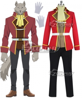 Grimoire of Zero Holdem Red Cosplay Costume