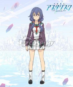 Gakusen Toshi Asterisk Academy Battle City Asterisk The Asterisk War The Academy City of the Water Haruka Amagiri Cosplay Costume