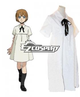 Gangsta Gyangusuta Nurse Nina Cosplay Costume