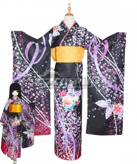 Hell Girl: Yoi no Togi Ai Enma Cosplay Costume