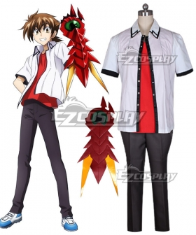 High School DXD BorN Issei Hyoudou Including Greaves Cosplay Costume