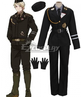 Axis Powers Hetalia Germany Ludwig Beillschmidt Cosplay Costume