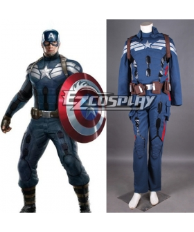 Captain America Cosplay Costume New