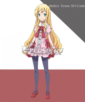 In Another World With My Smartphone Isekai wa Smartphone to Tomo ni. Sushie Urnea Ortlinde Cosplay Costume